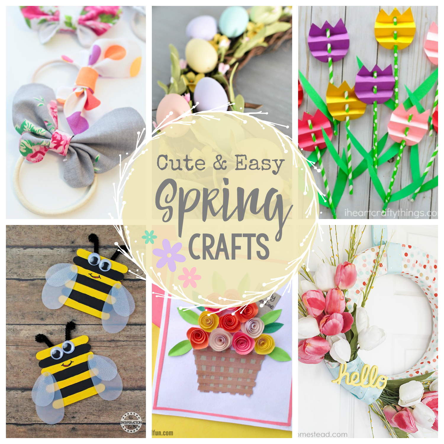 Cute Amp Easy Spring Crafts To Make