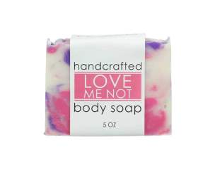Crazy Love Bath and Body Love Me Not Soap