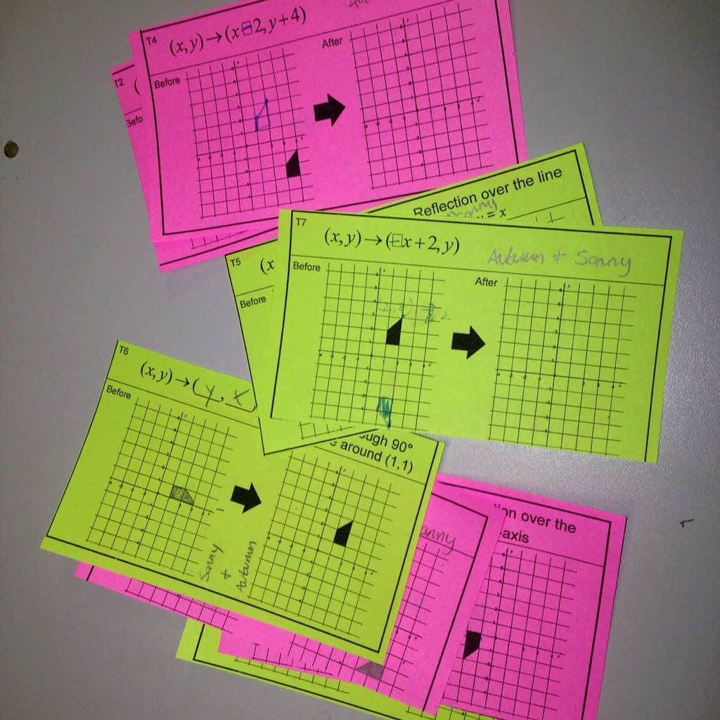 Day 72 Transformations Math Assessment Project