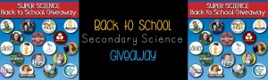 Super Secondary Science Giveaway!