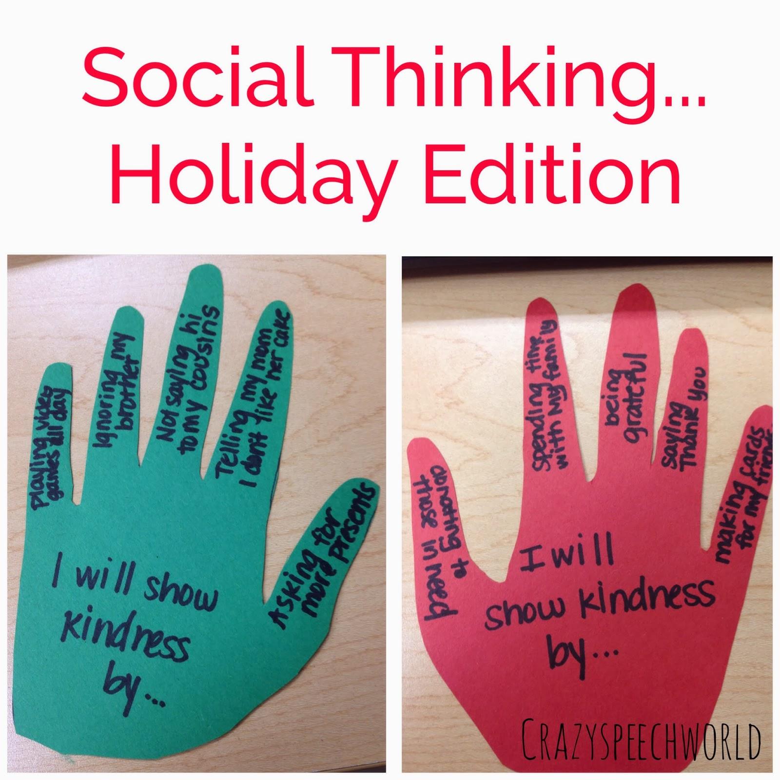 Social Thinking Speech Tree