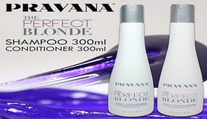 Blonde Purple Shampoo and toning Set by Pravana