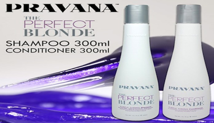 Blonde Purple Shampoo and toning Set by Pravana