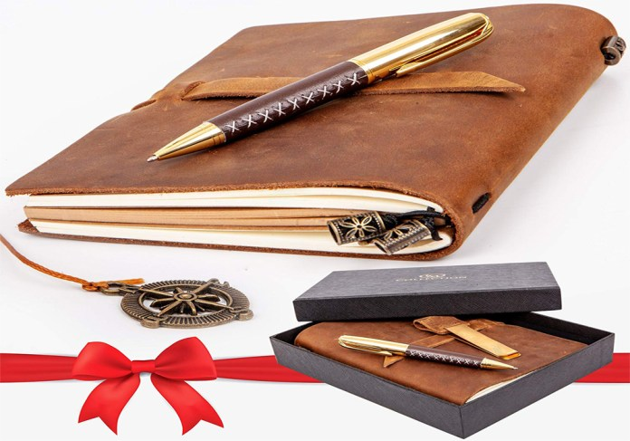 Leather Planner Gift Set