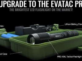 EVATAC PRO-XML Tactical Flashlight