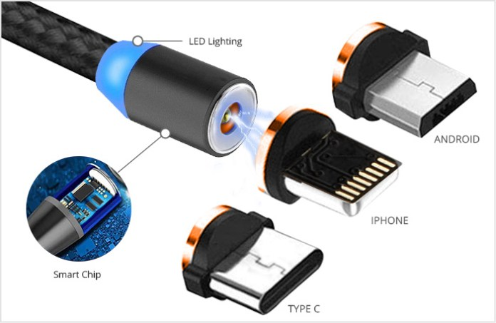 Lightning Fast Magnetic Charger