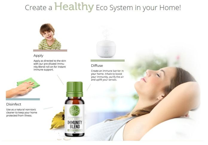 Pure Herbal Immunity CBD Oil