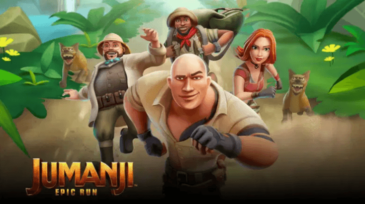 Jumanji: Epic Run,Best Adventure Games for Android