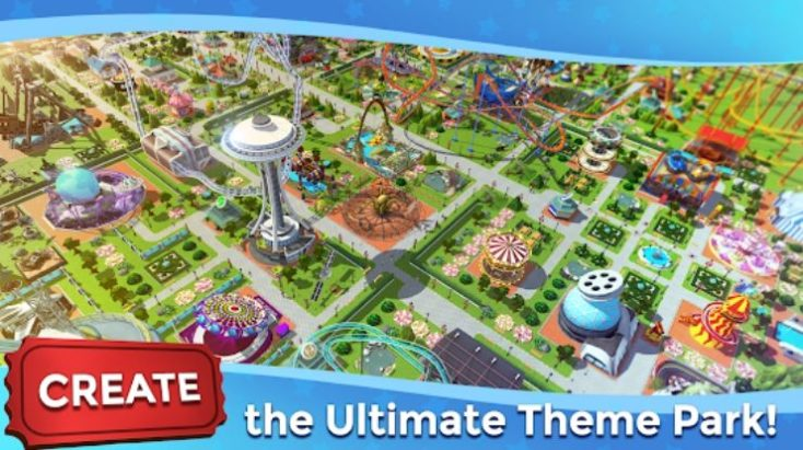 RollerCoaster Tycoon Touch, Best Simulation Games for Android