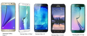 Comparison of Samsung smartphones