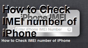 How to Check IMEI number of iPhone and Find Serial Number, ICCID, MEID of your iOS Device – Easy Method
