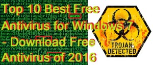 Top 10 Best Free Antivirus for Windows 7 – Download Free Antivirus of 2017