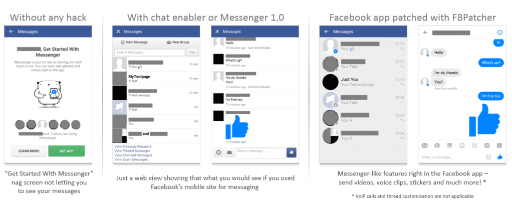 How to Chat in Facebook Without Messenger Download - Use Facebook without Facebook app