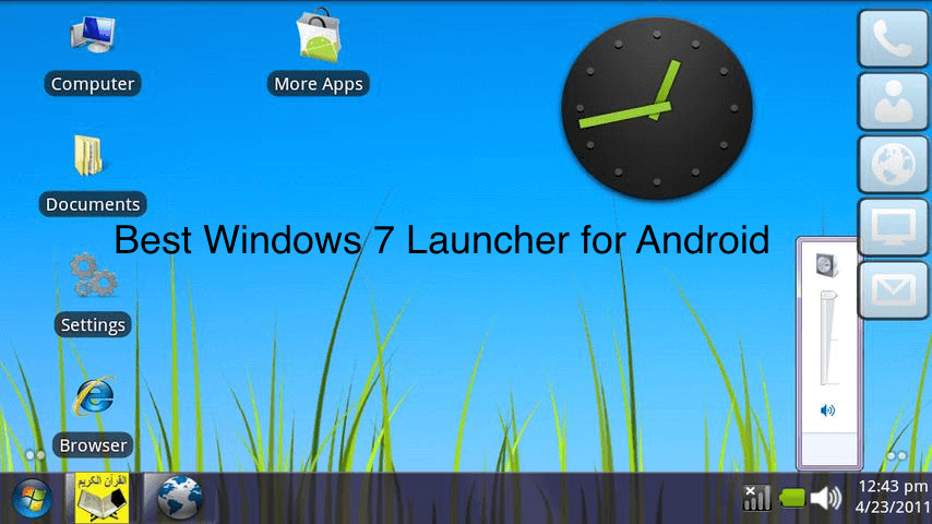 Download Windows 7 launcher for Android apk Free Download - Full Version