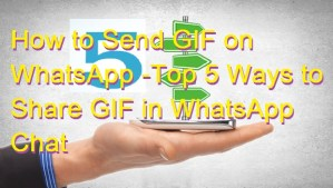 How to Send GIF on WhatsApp -Top 5 Ways to Share GIF in WhatsApp Chat