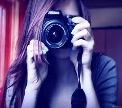 amazing girl with camera