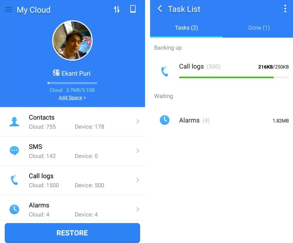 How To Backup Android Contacts To Cloud