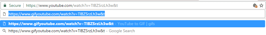 How to Make a GIF out of a YouTube Video for FREE