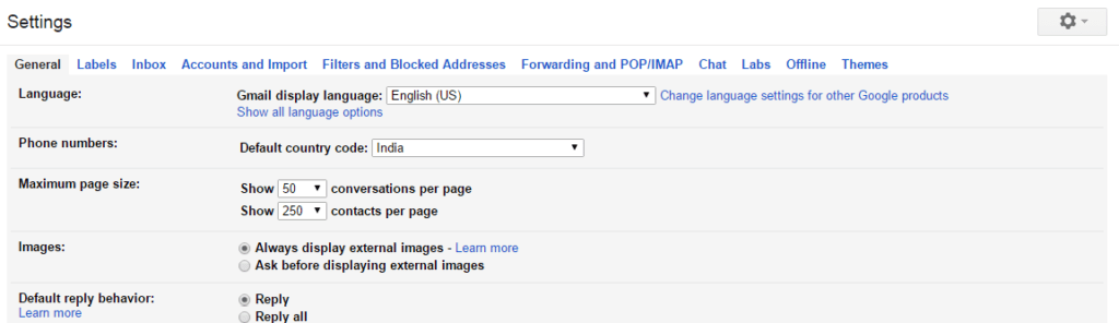 "click on the ""Settings"" icon to Enable Gmail Forwarding"