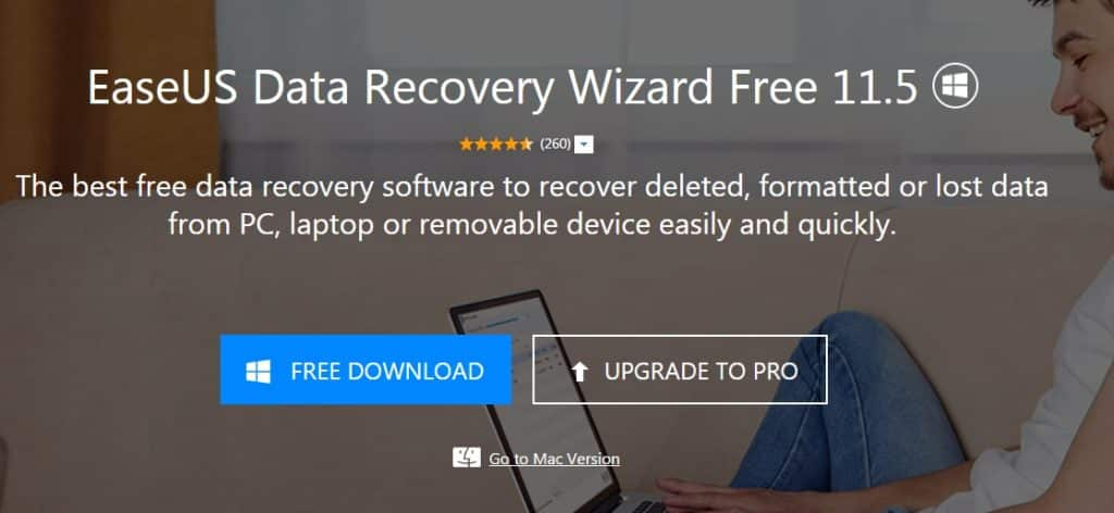Use EaseUS Data Recovery Wizard Free 11.5 to Ensure Fast Data Recovery