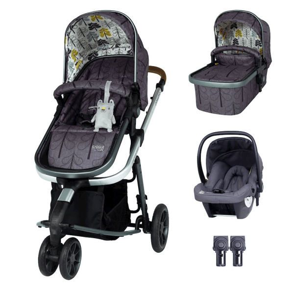 Cosatto Giggle 3 Travel System & Hold Group 0+ Car Seat Bundle - Fika Forest