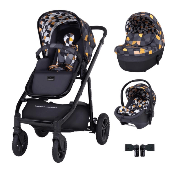 Cosatto Wow Continental Premium Travel System Bundle (Incl. RAC i-Size 0+ Car Seat) - Debut