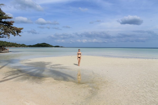 Nastia on the Chaweng Beach!