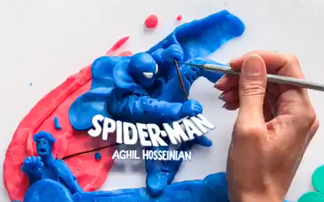 SpiderMan-StopMotion-Aghil
