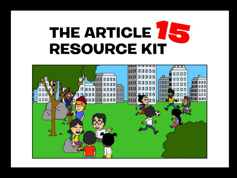 Module 1: An Introduction to the Article 15 Resource Kit