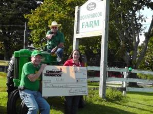 Fund for the Region Grants $5,000 to 4-H