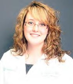 Kaitlin Ames is finishing her residency at Doctors Hospital in Columbus, Ohio.
