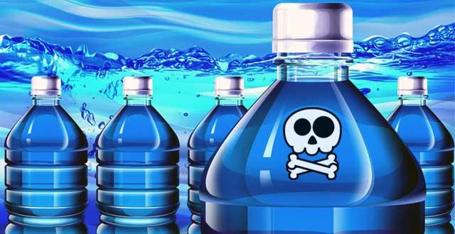 agua embotellada bacterias