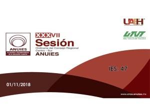 XXXVII Sesión Ordinaria del Consejo Regional