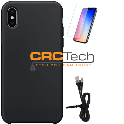 CRCTech iPhone Silicone Accessories Pack