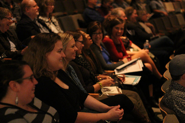 Attendees at 2015 Portland Creative Conference