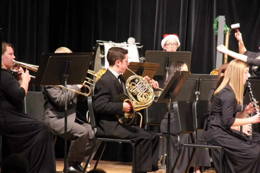 Burns High School Band