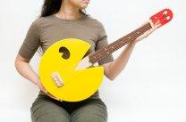 Pac Man ukulele (paculele)