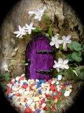 Fairy Door - The Turning Door - Die Stone Cast.