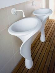 The Kalla & Kallashort Washbasin Series from Mastella Design