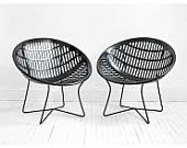 Vintage Solair Basket Chair