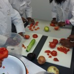 teaching kids cooking