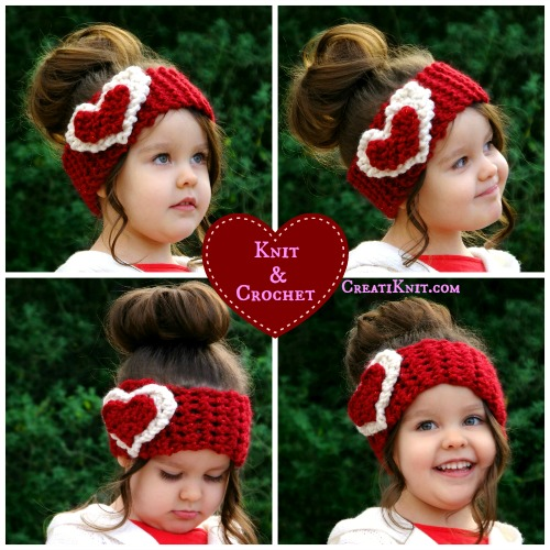 Free Valentines Day Pattern In Crochet And Knit