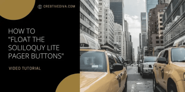 How to Float the Soliloquy Lite Responsive Slider Pager Buttons Vertically