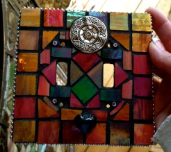 Easy Mosaic Tile Light Switch Cover