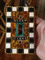 Sleep Tight Mosaic Tile Light Switch Cover