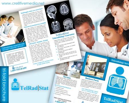 TeleRad Stat Tri Fold Brochure