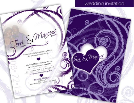Custom Designed Invitation