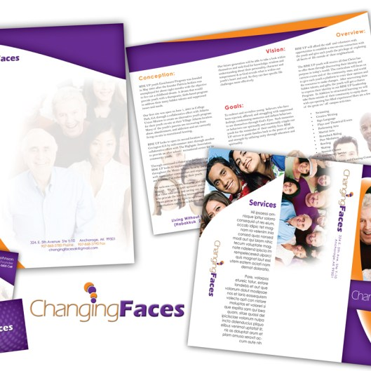 Changing Faces Identity Design