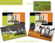 J & J Events BCard Comparison