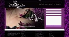 1101 Makeup Bar Website